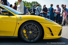 Ferrari Scuderia 16M (Banaham Photography) Tags: ferrari scuderia 16m yellow italian supercar meet car automotive photographer photography brakes wheel wednesday