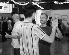 0A2A8820 (duncankelman) Tags: koasound koasoundphotography ballroom lgbt latin gay london londonpeople dance dancing pinkjukebox lesbian movement art blackandwhitephotography blackandwhite bokeh colourphotography photojournalism canon5d canon5dmarkiii shallowdepthoffield monochrome lacantina strictlyballroom sigmaf14artlens