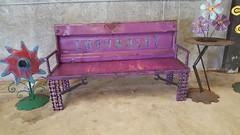 Repurposed Furniture Garden Bench (Raymond Guest) Tags: bench furniture gardenbench recycledart gardenideas garden gardening gardenfurniture outdoorgarden