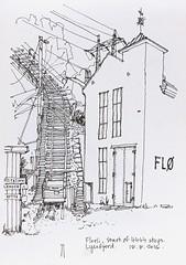Florli (jamesdyson) Tags: florli florli4444 4444steps lysefjorden ryfylke norway turbinehall hydroelectric powerstation sketch fibretip