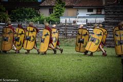IMG_9293 (scramasacs) Tags: historicalreenactment reenactment aquileia tempora romans