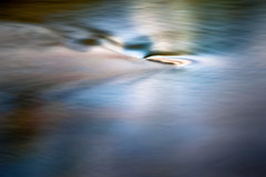 Waiting for the River (ScottNorrisPhoto) Tags: river water flow rock stream eddy ripple reflection longexposure neutraldensityfilter outdoors landscape etherial blur motionblur submerged blue cool wet abstract fineartphotography wave smooth 365project photooftheday photoaday explore photography scottnorrisphotography milwaukee wisconsin usa