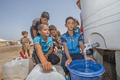 Hardship in the Desert_330 (EU Humanitarian Aid and Civil Protection) Tags: iraq fallujah anbar water nrc norwegianrefugeecouncil children desert