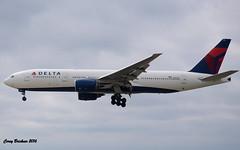 Delt Airlines (coreybrickner) Tags: boing delta msp nrt nrtmsp n862da b777 b772 b777232er heavy widebody dl616 flaps gear airline airport jet aviation 12r nikon plane spotting avgeek