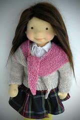 """KATRINA 20"""" doll (Dearlittledoll) Tags: waldorf waldorfdoll dearlittledoll steinerdoll handmadedoll naturaldoll naturalfiberdoll"""