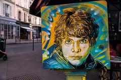 C215 : Luke Skywalker (dprezat) Tags: c215 starwars lukeskywalker skywalker vincennes boteauxlettres postes street art graffiti tag fresque pochoir peinture arosol bombe painting nikon nikond800 d800 christiangumy