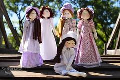 Bonecas inspiradas no livro Orgulho e Preconceito (Renata Lopes Leite) Tags: bonecas fotografiadeproduto productphotography