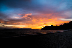 Sunset in Kep (rflexit) Tags: asia cambodia south sunset sky sun clouds colorful