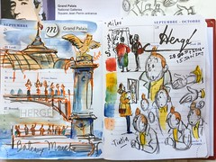 Tintin, grand Palais, Herg (Paris Breakfast) Tags: tintin grandpalais herg