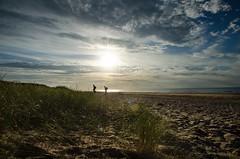 ** (donvucl) Tags: norfolk seashore sand clouds sky textures people comp nikond7000 donvucl holme colour