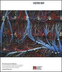 ephemera - Computer History Museum brochure (Jassy-50) Tags: california museum computer ephemera wires mountainview brochure circuit computerhistorymuseum computermuseum visitormap