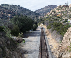 Santa Susana Pass rail (0299) (DB's travels) Tags: sanfrancisco california railroad amtrak tempcrr