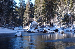 Merced River (wirehead) Tags: winter snow water river yosemite ep3 1442mm