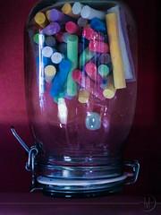 Zero Gravity Chalk Pot (Angels Melange) Tags: chalk magic pot gravity wonderland zero