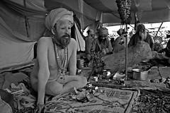 Naga Sadhu @ Juna Akhara