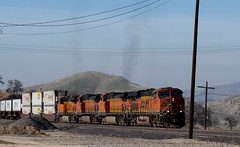 BNSF ascending from Bealville (0465) (DB's travels) Tags: california railroad up unionpacific bnsf tehachapiloop kerncounty tempcrr