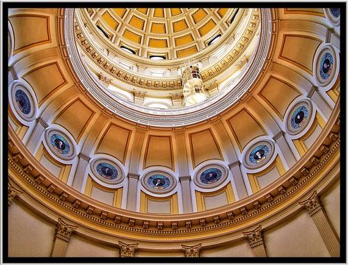 State Capitol Dome ~Interior ~ Denver Co