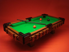 A Game of Pool (Profound Whatever) Tags: pool table lego billiards
