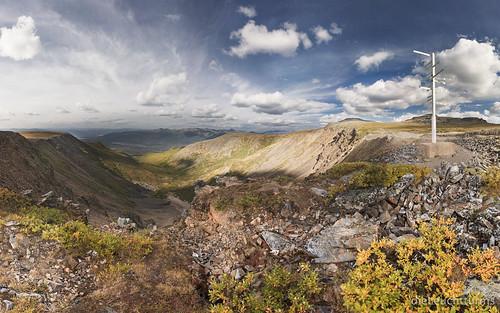 View above Keno Mountains