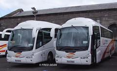 Bus Eireann SP110 (08D23988) & SP114 (08D22223). (Fred Dean Jnr) Tags: dublin bus coach pb scania buseireann irizar k114 sp110 sp114 april2010 cietoursinternational 08d22223 08d23988 buseireannbroadstonedepot