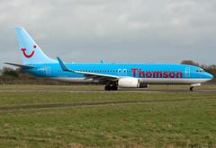 G-FDZY Boeing 737-8K5 (Irish251) Tags: ireland dublin airplane thomson boeing dub 737 dublinairport 737800 7378k5 eidw gfdzy