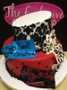 "Red and black girly cake • <a style=""font-size:0.8em;"" href=""http://www.flickr.com/photos/40146061@N06/8447527453/"" target=""_blank"">View on Flickr</a>"