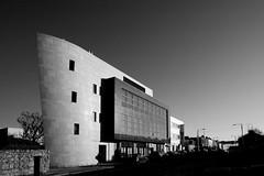 FAS office Dun Laoghaire ~Explored#242 (Wendy:) Tags: monochrome architecture wideangle 1740mm fas dunlaoghaire cumberlandstreet explored edmondsonarchitects
