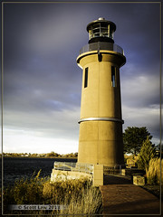 Clover Island Lighthouse