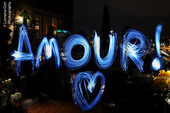 Amour ! (Lorraine Goh) Tags: light painting amour