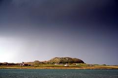 Iona (OutdoorMonkey) Tags: water abbey island scotland holy isleofmull iona celtic christianity mull ionaabbey fionnphort macleanscross dùnì