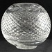 4005. Waterford Style Globe Vase