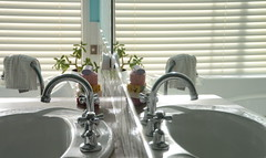 Mirror (rach680) Tags: reflection bathroom mirror sink basin taps