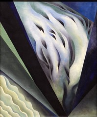 "Georgia O'Keeffe,  ""Blue and Green Music""  (1921) (ngclark) Tags: chicago artinstitute georgiaokeeffe"