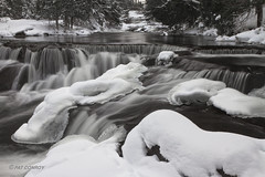 Bond Falls-4844 (westmichigan) Tags: longexposure winter snow cold ice nature water canon landscape outdoors waterfall michigan upperpeninsula movingwater bondfalls paulding northernmichigan canonef24105mmf4lisusm pauldingmi michiganwaterfalls canoneos7d