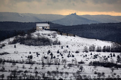 Nochmals: Drei Monate spter: Winterversion  Three months later (Objektkontrast) Tags: tbingen badenwrttemberg hohenzollern wurmlingerkapelle unterjesingen