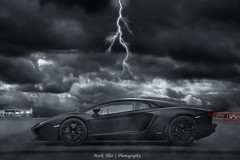 Aventador (Mark Plat) Tags: lighting shadow sky black beach photoshop photography exposure dof darkness thenetherlands rims edition lamborghini wassenaar efs exclusive matte exotics adobephotoshopelements aventador markplat lp700 canon18200efs
