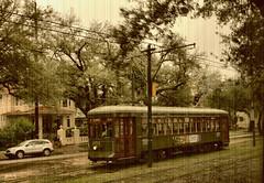 St.Charles Streetcar (gabi-h) Tags: old vintage louisiana neworleans january mardigras streetcar stcharles gabih