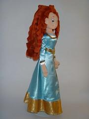 New Formal Merida Medium Plush Dolls - Disney Store - First Look - Full Left Front View (drj1828) Tags: doll formal plush merida medium purchase disneystore 20inch