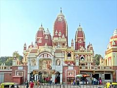 Le temple de Lakshmi Narayan (Delhi)