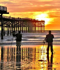 Nature Photographers (moonjazz) Tags: photographers nature ocean california professional cameras tripods best image gold artist sun
