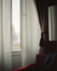 Room #412 (magastrom) Tags: morning winter 120 mamiya film window analog dawn czech prague kodak 400 curtains epson 6x7 february portra hotelroom rz67 v700 proii 110mmf28 internalframing magastrom magnusstrm