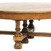 117. Oak Cross Stretcher Coffee Table