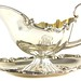 2046. Sterling Silver Gravy Boat with Undertray