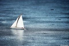 Chopin: Preludes op.28 / No.  18 (Vlachbild) Tags: winter lake ice germany toys europe ship daily environment trier rhinelandpalatinate nellspark