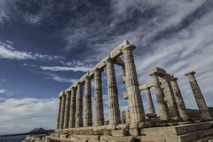 Temple of Poseidon, Sounio (greekadman) Tags: