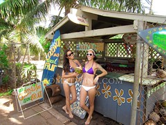 Hawaii 2013 (BOMBTWINZ) Tags: ocean sunset streetart art beach water yoga fruit hawaii sand surf waikiki oahu dive woody surfing kauai diamondhead spoutinghorn poipu honolulu tandem carshow blockparty dukes bikinis bathingsuits hilife turtlebeach yardhouse hanaleibay kakaako powpow surfergirl tandemsurfing gopro lanalane shipwrecksbeach barefootbar powwowhawaii kintaros kaimanabeach weksos bombtwinz wekfest elissaalva gopole goprohero2 wekfesthawaii wekfesthi northshoresurfshop