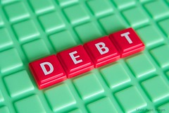 Stock Photography - Debt (Silver Point Images) Tags: canon photography stock 30d debt stockphotography greenbackground canon30d canon60mm