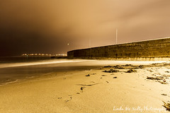 Beach at Bundoran Pier (linda_mcnulty) Tags: ireland sea seascape beach water wall canon landscape coast pier waves quay shore donegal bundoran