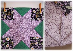 Purple Star (Patchwork Daily Desire) Tags: stars quilt crafts quilting quilted blocks quilts scraps patchwork batting binding patchworkdailydesire