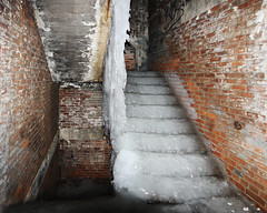 Watch your step (Notkalvin) Tags: abandoned ice slick decay urbanexploration slippery urbex icystairs notkalvin watchyoursteposhawouldneverapprove